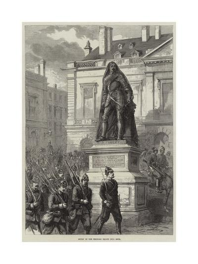 Entry of the Prussian Troops into Metz--Giclee Print