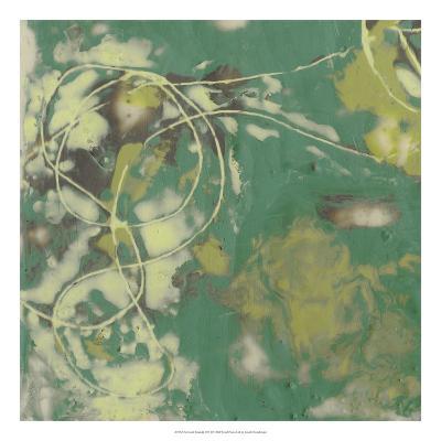 Entwined Emerald II-Jennifer Goldberger-Premium Giclee Print