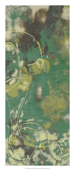 Entwined Emerald IV-Jennifer Goldberger-Premium Giclee Print