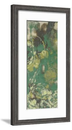 Entwined Emerald IV-Jennifer Goldberger-Framed Premium Giclee Print