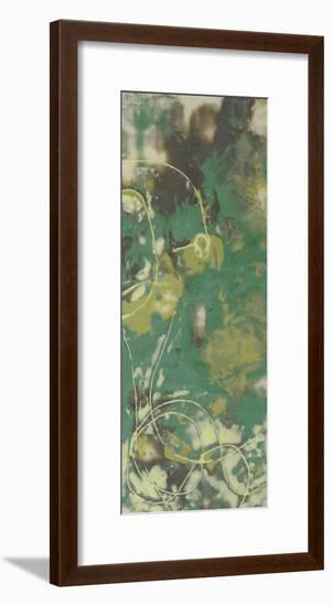 Entwined Emerald IV-Jennifer Goldberger-Framed Premium Giclee Print