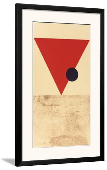 Entwurf fur Eine Festdekoration in Witebst, c.1920-Vera Jermolajeva-Framed Art Print