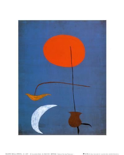 Entwurf fur eine Tapisserie-Joan Mir?-Art Print