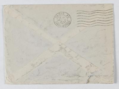 enveloppe de la lettre autographe de Charles Fedgal--Giclee Print
