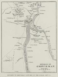 Environs of Omdurman, Captured by the Sirdar, 3 September