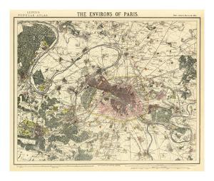 Environs Paris, c.1883
