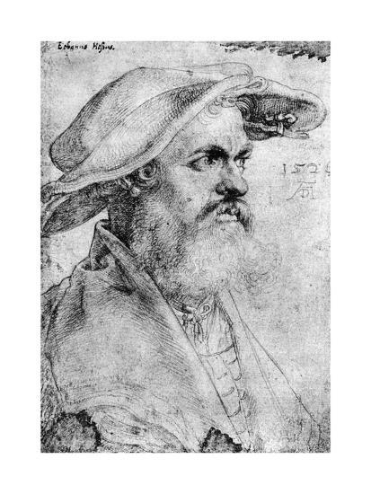 Eobanus Hesse, 1526-Albrecht Durer-Giclee Print