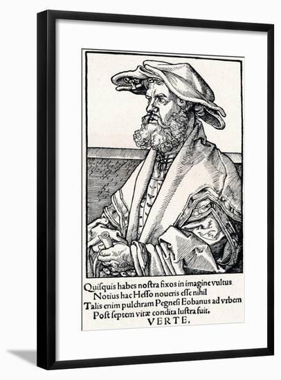Eobanus Hesse, 1527-Albrecht Dürer-Framed Giclee Print