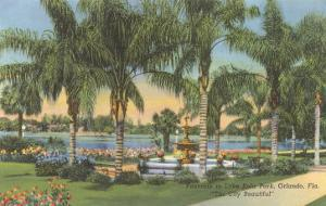 Eola Park, Orlando, Florida