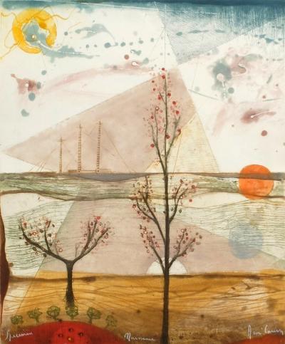 Epanouissement de la fleur (Naissance)-Ren? Carcan-Limited Edition