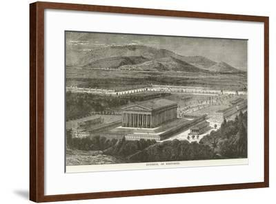 Ephesus, as Restored--Framed Giclee Print