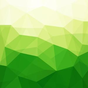 Abstract Green Triangle Background by epic44