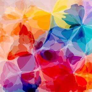 Multicolored Background Watercolor Painting by epic44