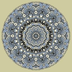 Round Decorative Design Element by epic44
