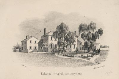 Episcopal Hospital, 1856-Francis Schell-Giclee Print