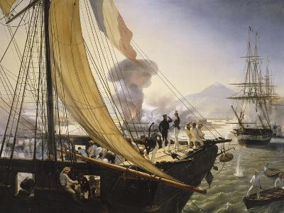 Episode de l'expédition du Mexique en 1838,-Horace Vernet-Giclee Print