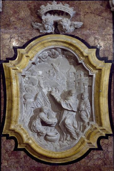 Episode from Life of Saint Benedict Relief-Giovanni Marino-Giclee Print