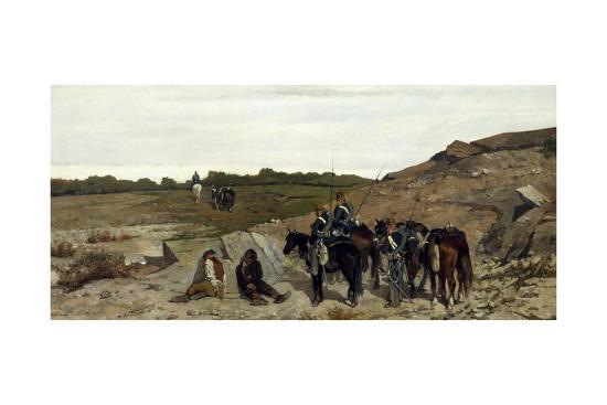 Episode of Campaign Against Brigandage, 1863-Giovanni Fattori-Giclee Print