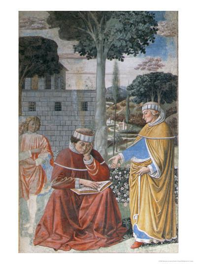 Episodes from the Life of St. Augustine, 1463-65-Benozzo di Lese di Sandro Gozzoli-Giclee Print