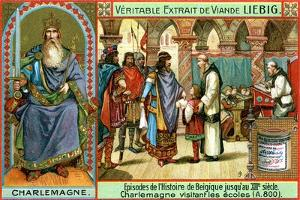 Episodes in the History of Belgium Up Until the 13th Century: Charlemagne