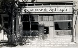 Epitaph Newspaper Office, Tombstone, Arizona