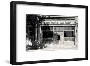 Epitaph Newspaper Office, Tombstone, Arizona