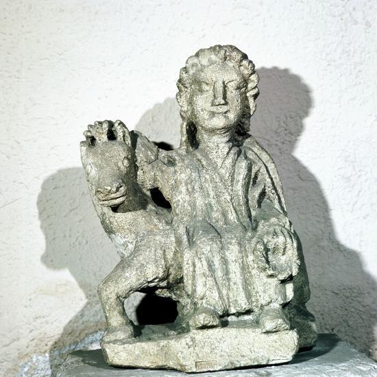 Epona, Celtic Goddess, Roman period. Artist: Unknown-Unknown-Giclee Print