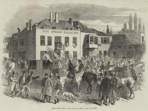 Epsom Races, 1846, The Spread Eagle