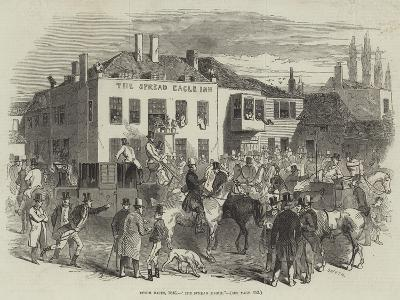 Epsom Races, 1846, The Spread Eagle--Giclee Print
