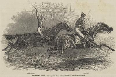 Epsom Spring Meeting, the Race for The Metropolitan-Harrison William Weir-Giclee Print