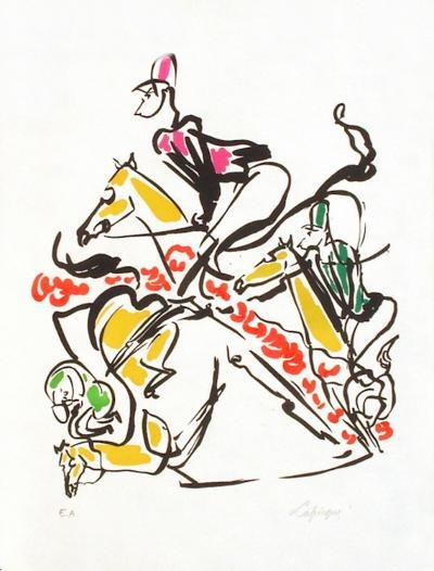 EQ - Le steeple-chase-Charles Lapicque-Limited Edition