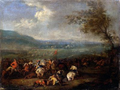 Equestrian Battle-Jan Frans van Bredael-Art Print