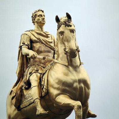 Equestrian Statue of King William Iii, 18th Century-Peter Scheemakers-Photographic Print