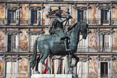 Equestrian Statue of Philip III--Giclee Print
