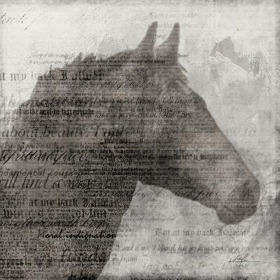 Equestrian Story 1-Ken Roko-Art Print