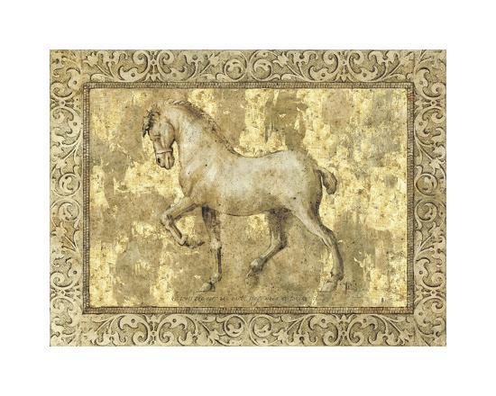 Equine II-Paul Panossian-Giclee Print