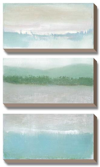 Equinox-Caroline Gold-Canvas Art Set