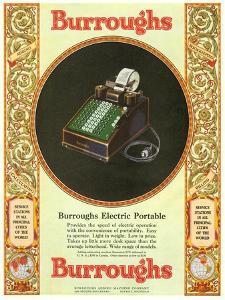 Equipment Burroughs, Adding Machines, Accountants, USA, 1929