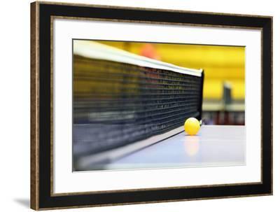 Equipment for Table Tennis - Racket, Ball, Table-TTstudio-Framed Photographic Print