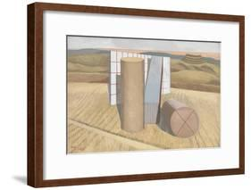 Equivalents for the Megaliths-Paul Nash-Framed Giclee Print
