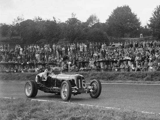 ERA of Raymond Mays racing at Crystal Palace, London, 1939-Bill Brunell-Photographic Print