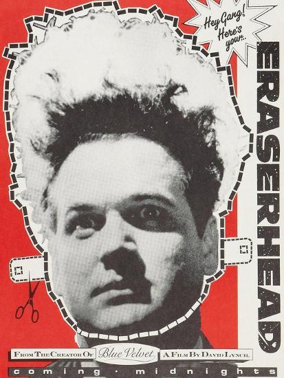 Eraserhead--Art Print