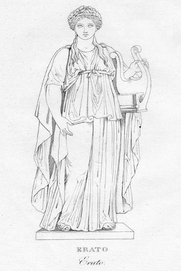 'Erato', c1850-Unknown-Giclee Print