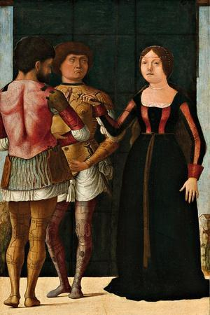Lucretia, Brutus and Collatinus