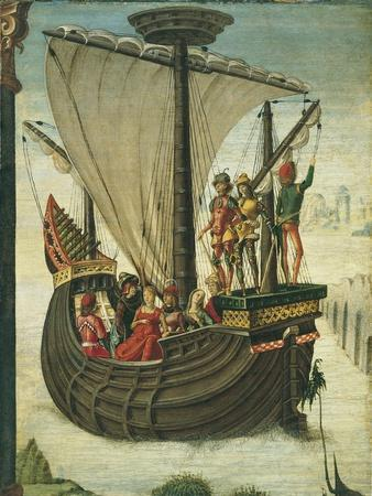 The Argonauts Leaving Colchis