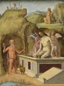 The Dead Christ, C. 1490 by Ercole de' Roberti