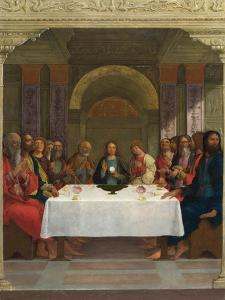 The Institution of the Eucharist, C.1490-1495 by Ercole de' Roberti
