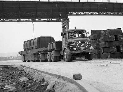 Erf 66Gsf Lorry, Park Gate Iron and Steel Co, Rotherham, South Yorkshire, 1964-Michael Walters-Photographic Print