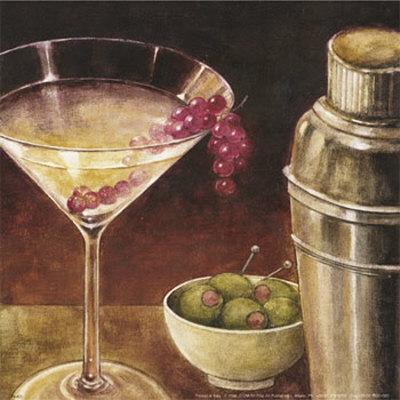 Martini with Grapes I