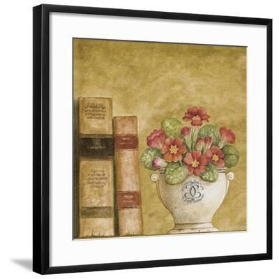 Potted Flowers with Books VII